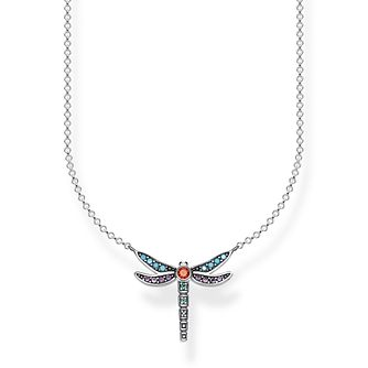 Thomas Sabo Paradise Dragonfly 925 Sterling Silver Necklace - Product number 4353072