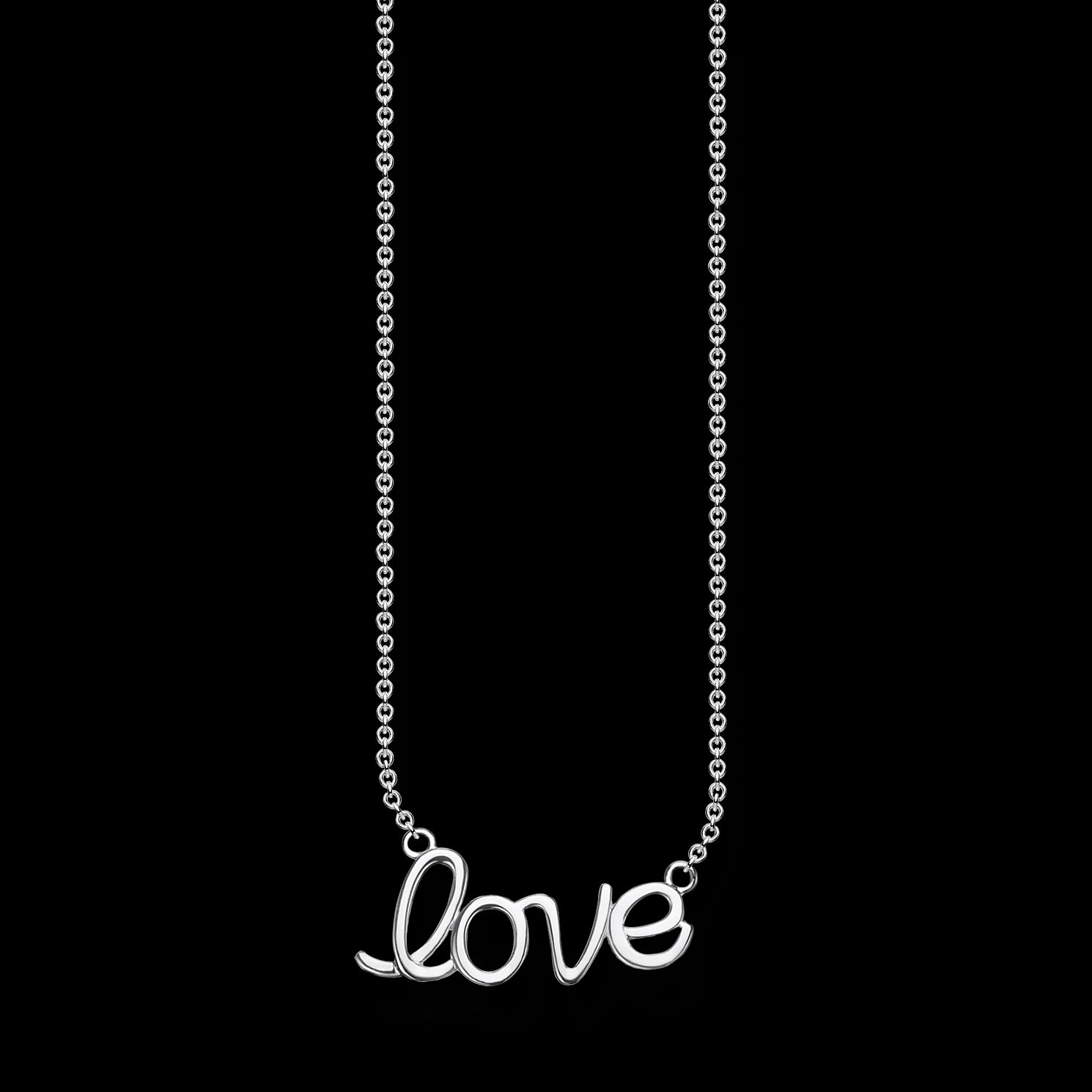 Thomas Sabo Love 925 Sterling Silver Necklace - Product number 4353102