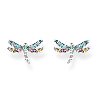 Thomas Sabo Paradise Dragonfly 925 Sterling Silver Earrings - Product number 4353129