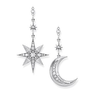 Thomas Sabo Kingdom 925 Sterling Silver Cz Drop Earrings - Product number 4353188