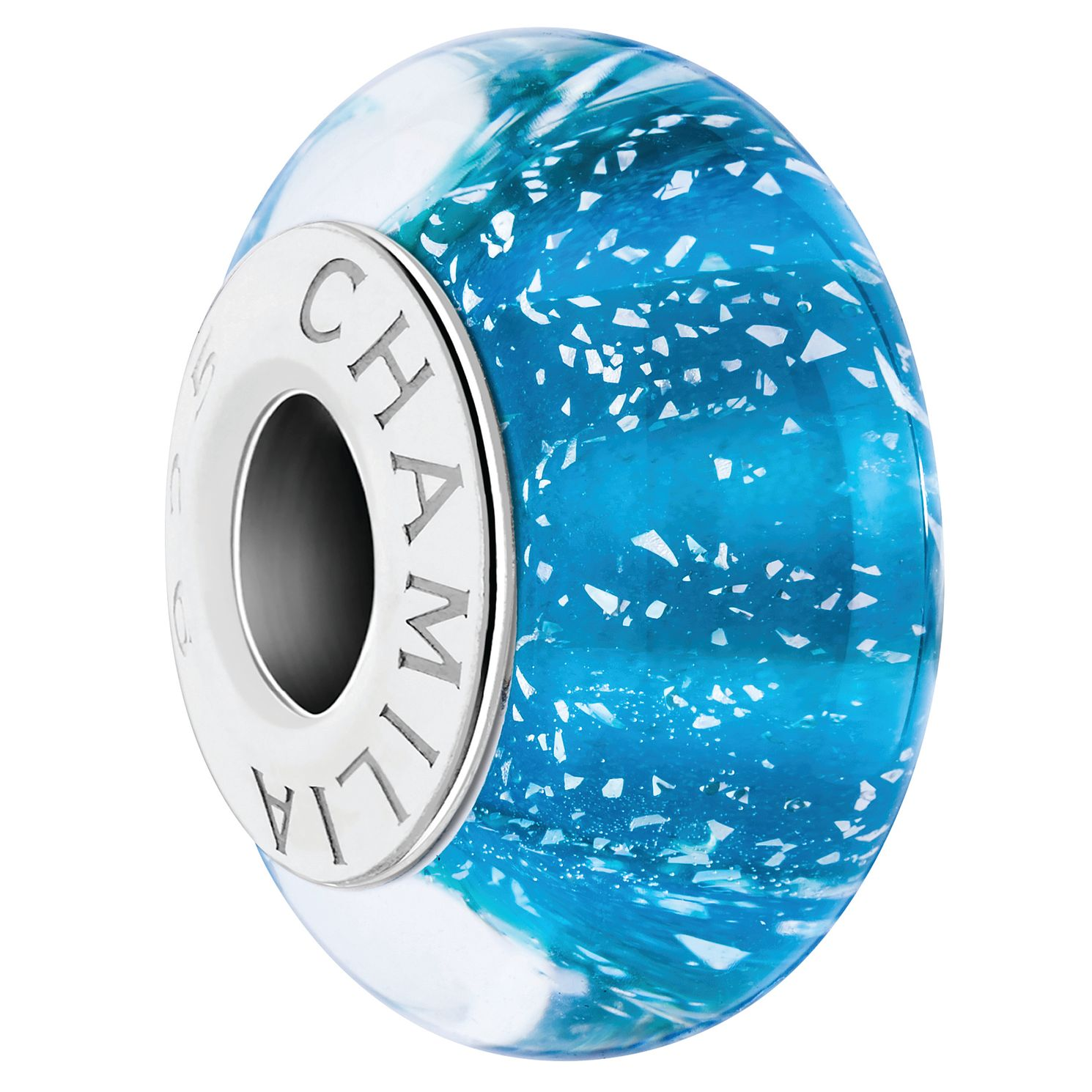 Chamilia Crystal Waters Sterling Silver & Murano Glass Charm - Product number 4364805
