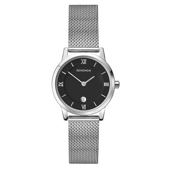 Sekonda Ladies' Stainless Steel Mesh Bracelet Watch - Product number 4365526