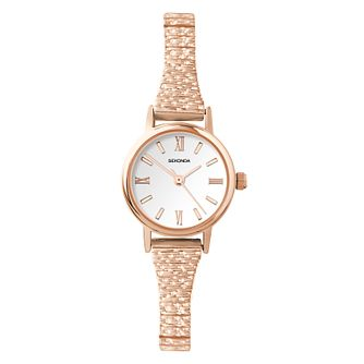 Sekonda Ladies' Rose Gold Tone Expander Bracelet Watch - Product number 4365690