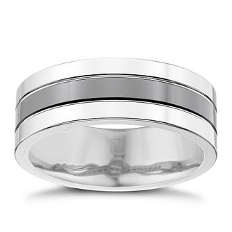 Tungsten Striped Ring - Product number 4367480