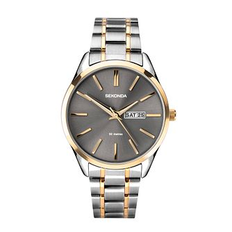 Sekonda Men's Two Tone Bracelet Watch - Product number 4371674
