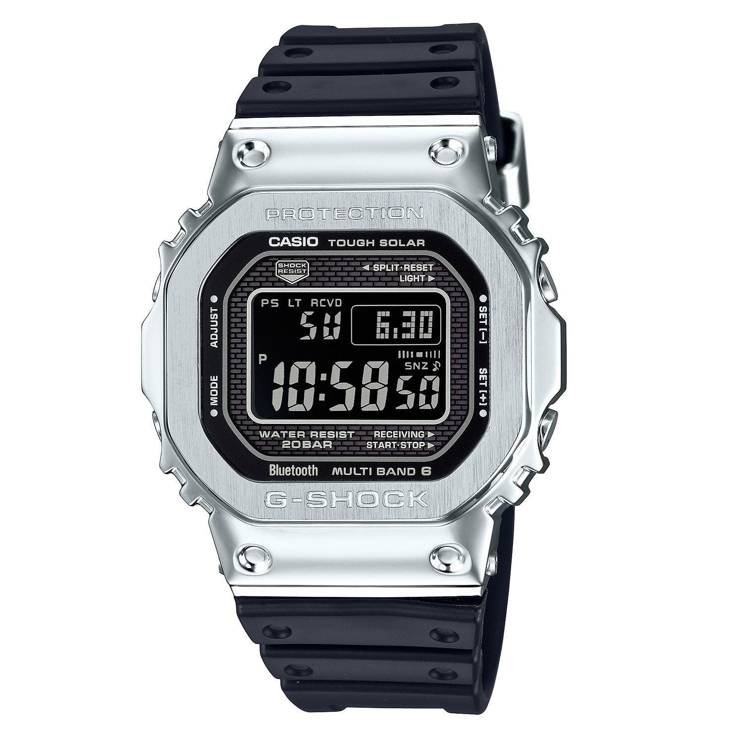 Casio G-Shock Tough Solar Men's Black Resin Strap Watch - Product number 4376870