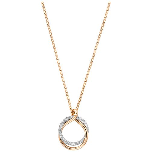 Swarovski Exact Rose Gold Plated Pendant - Product number 4379039