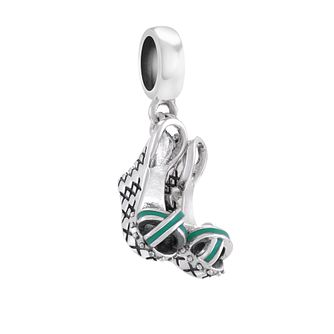 Chamilia On A Pedestal Sterling Silver & Enamel Charm - Product number 4381335