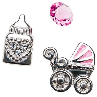 Chamilia Keepsake Memory Locket Baby Girl Charms - Product number 4382668