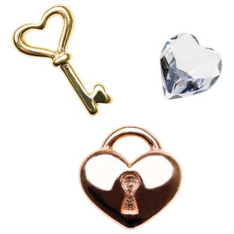 Chamilia Keepsake Unlock My Heart Memory Locket Charms - Product number 4382722