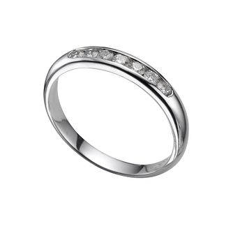 Platinum 0.25ct diamond wedding ring - Product number 4391985