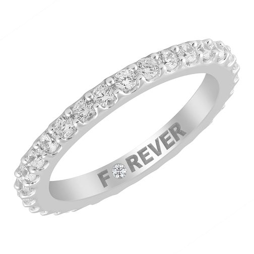 Palladium 0.58ct Forever Diamond Eternity Ring - Product number 4405226