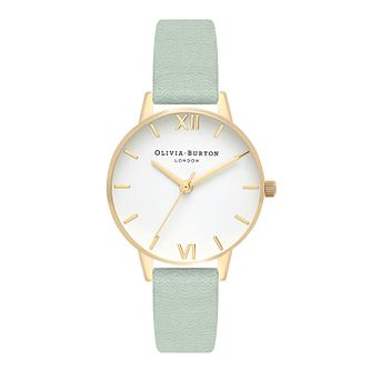 Olivia Burton Ladies' Sage Leather Strap Watch - Product number 4409973