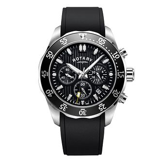 5164d686a73 Rotary Men s Black Strap Chronograph Watch - Product number 4412931
