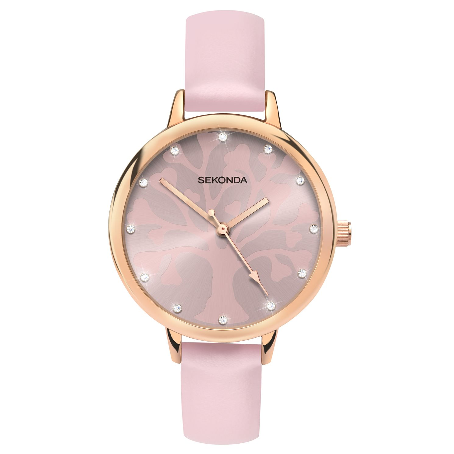 Sekonda Editions Ladies' Tree Of Life Design Pink Watch - Product number 4414403