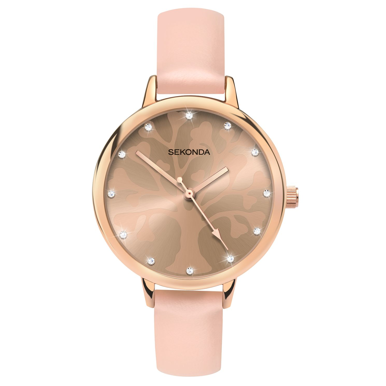 Sekonda Editions Ladies' Tree Of Life Design Nude Watch - Product number 4414446