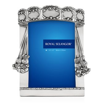 Royal Selangor Children's Bunny 12x15cm Photo Frame - Product number 4414985