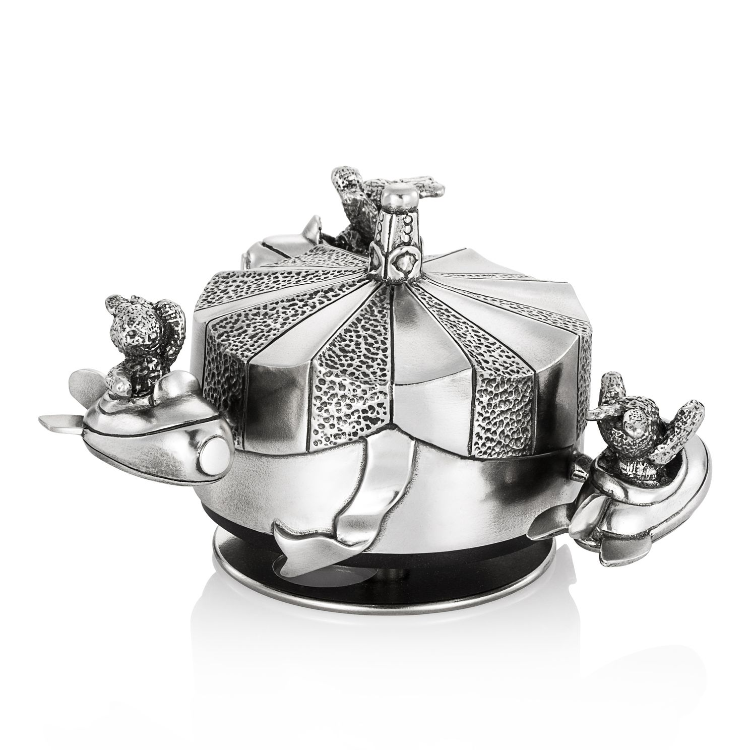 Royal Selangor Children's Bunny Carousel Figurine - Product number 4415035