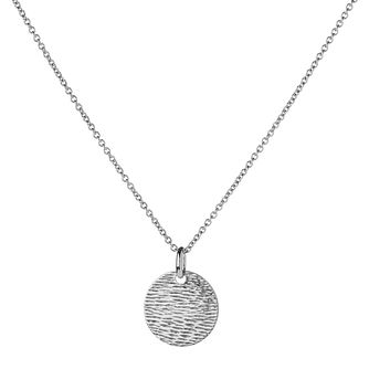 Rachel Galley Silver 925 Ocean Small Disc Pendant - Product number 4419308