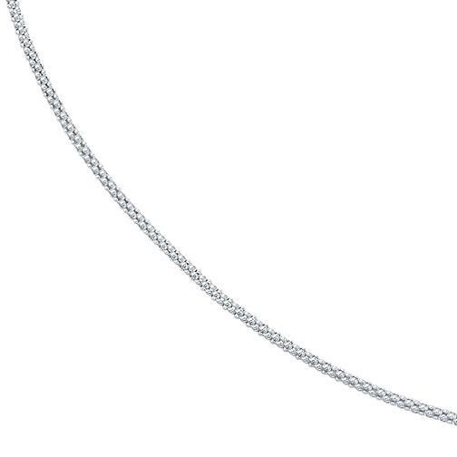 "Sterling Silver Spiga 30"" Necklace - Product number 4419324"