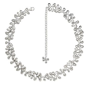Lucy Quartermaine Silver 925 Continual Splash Necklace - Product number 4420063