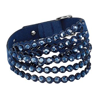 Swarovski Slake Power Collection Blue Crystal Bracelet - Product number 4422570