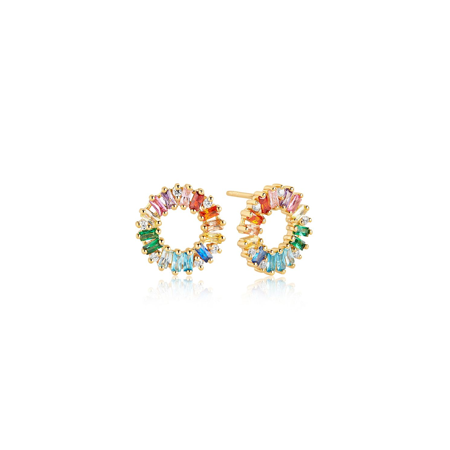 Sif Jakobs Antella Circolo Grande Gold Plated Earrings - Product number 4423135