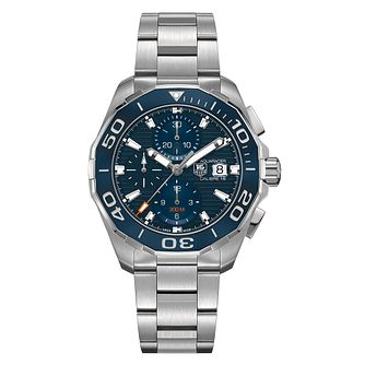 TAG Heuer Aquaracer Men's Stainless Steel Bracelet Watch - Product number 4433602