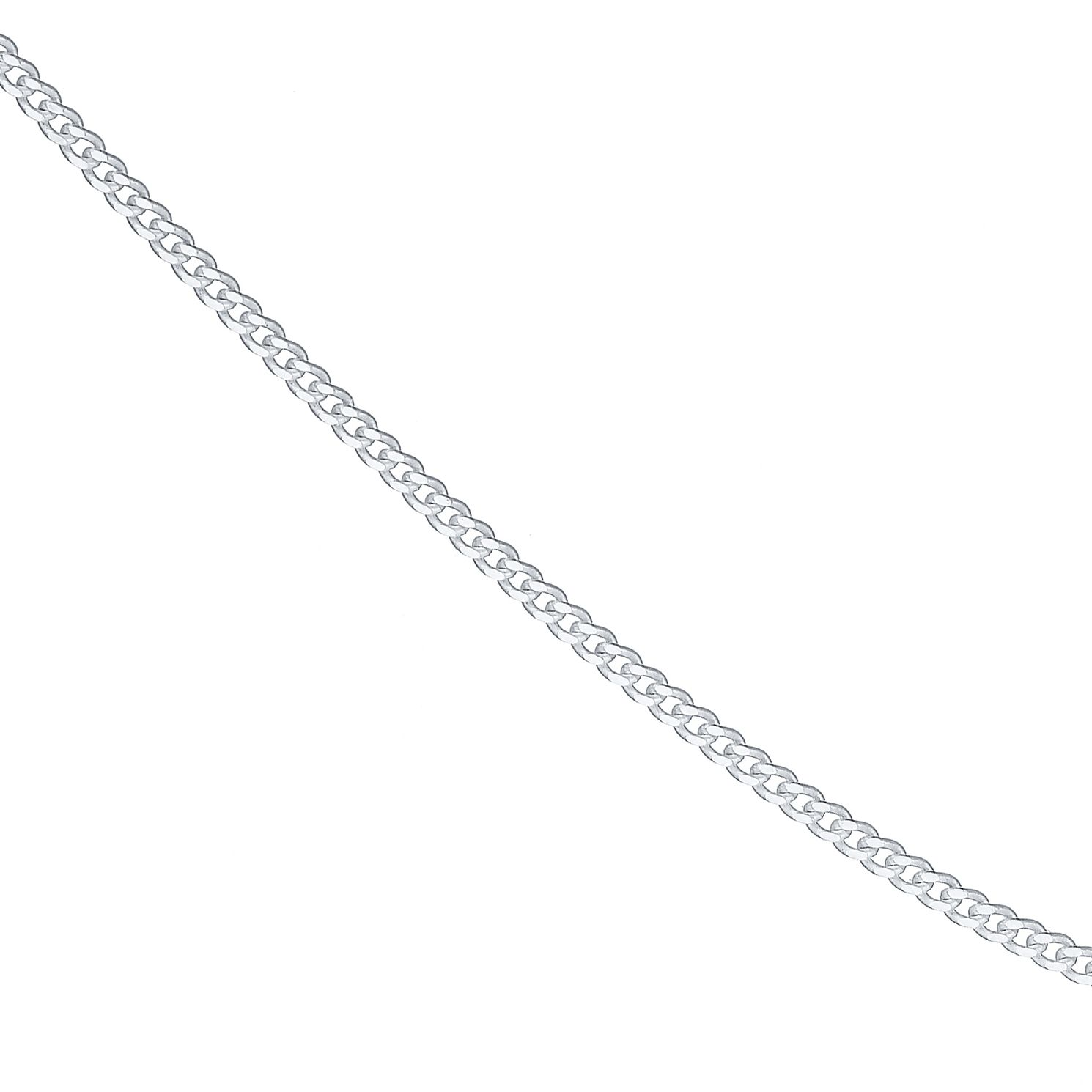 Sterling Silver 24 inches Curb Necklace - Product number 4437209