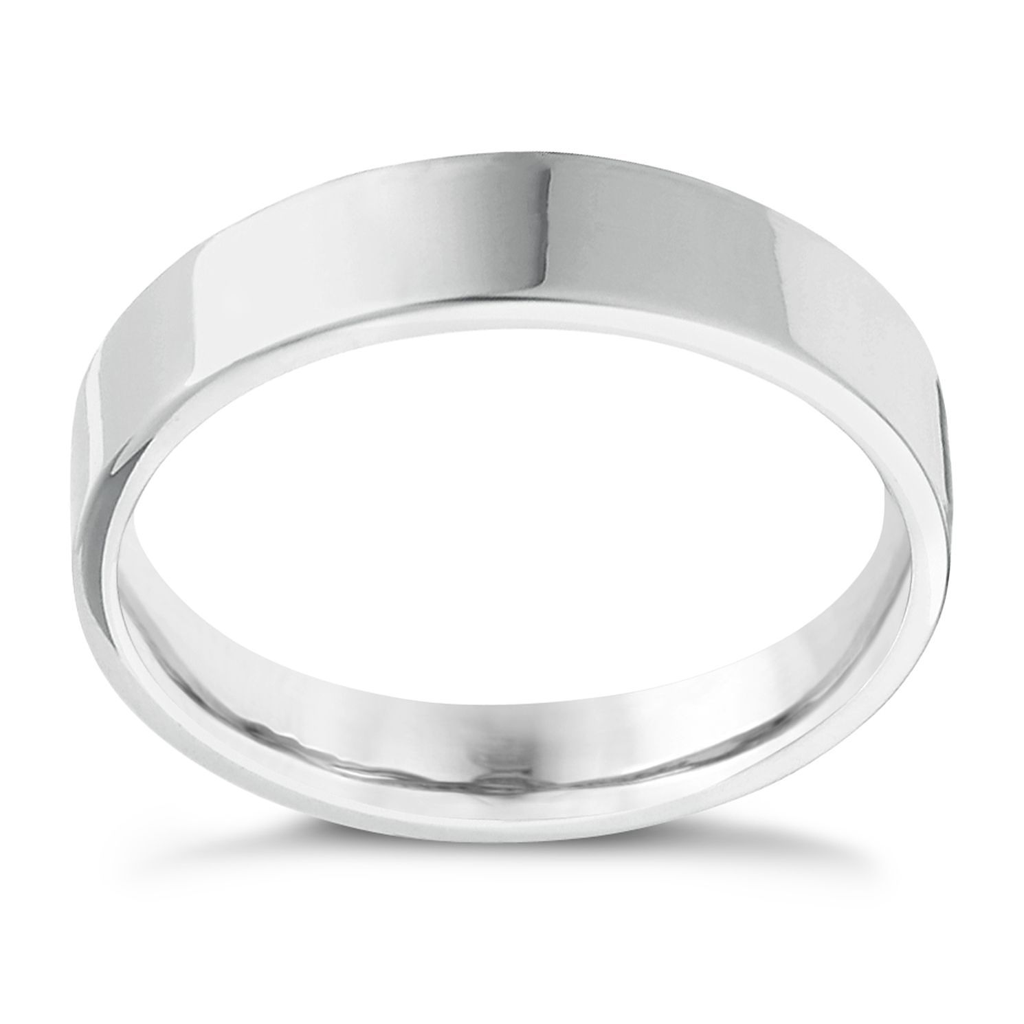Palladium Extra Heavy Flat Court 8mm Ring - Product number 4439767