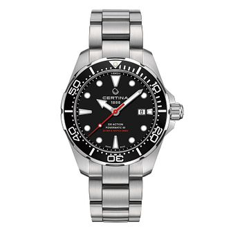 Certina Ds Action Powermatic 80 Men's Black Dial Watch - Product number 4440676