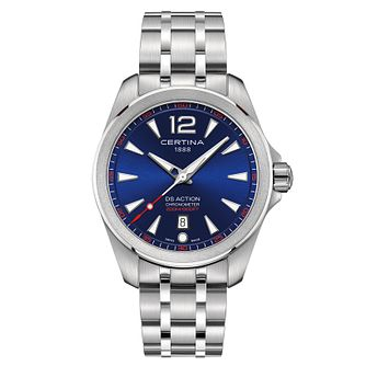 Certina Ds Action Men's Blue Dial Bracelet Watch - Product number 4440684