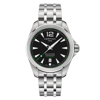 Certina DS Action Men's Black Dial Bracelet Watch - Product number 4440692