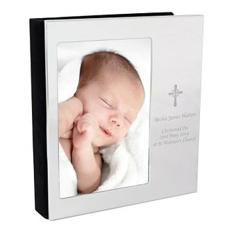 Personalised Cross Photo Frame Album 4x6 - Product number 4442105