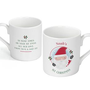 Personalised Santa Claus Balmoral Mug - Product number 4442261