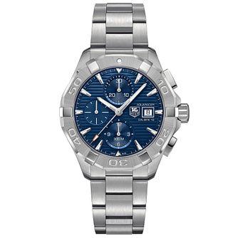 TAG Heuer Aquaracer Men's Stainless Steel Bracelet Watch - Product number 4445880