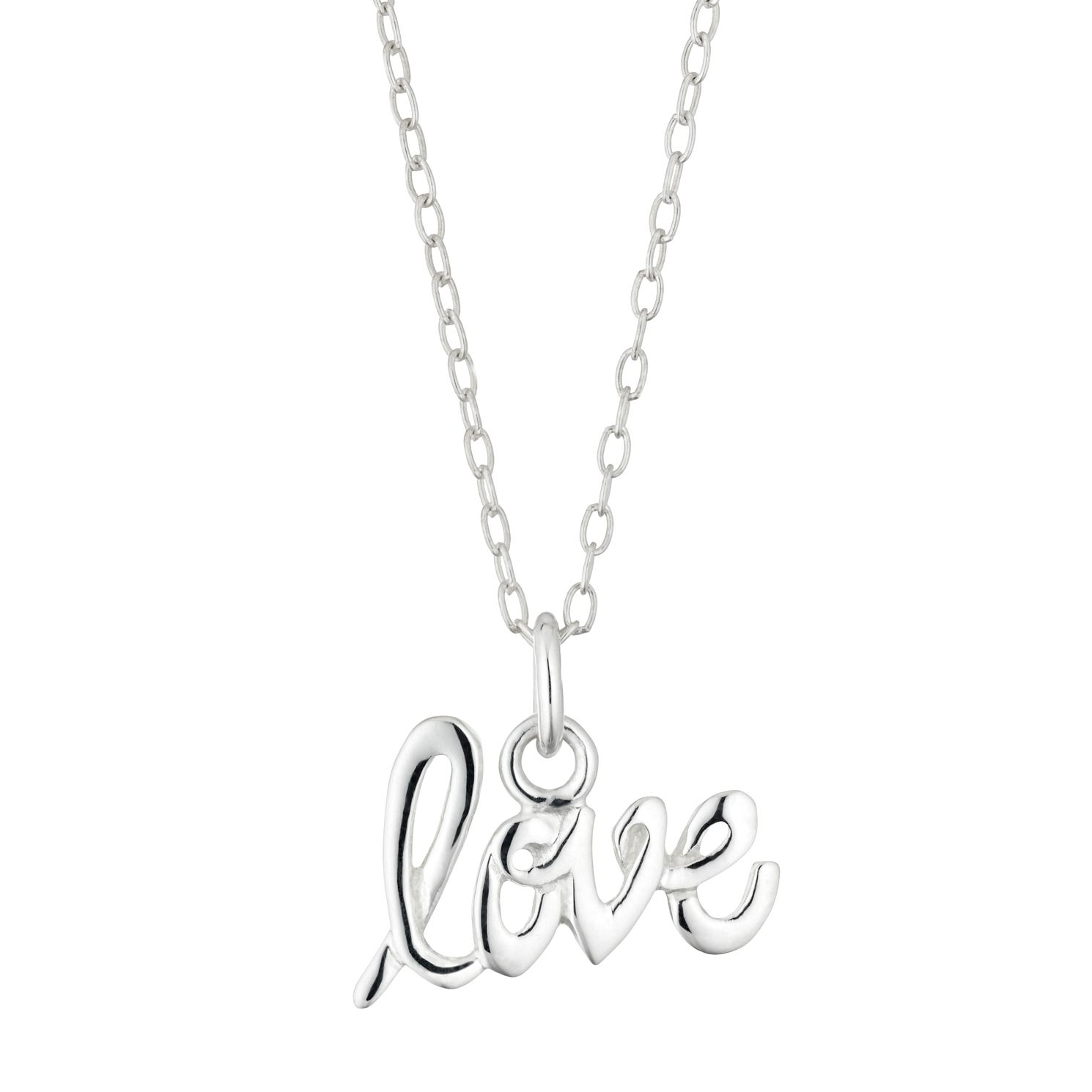 Silver Love Pendant - Product number 4455312