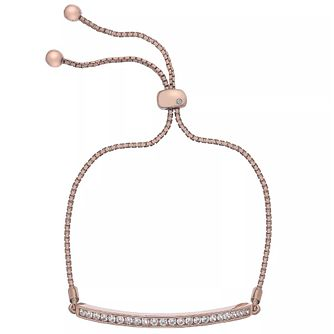 Hot Diamonds Rose Gold-Plated Adjustable Bracelet - Product number 4459784