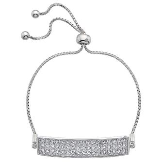 Hot Diamonds Cubic Zirconia Adjustable Bracelet - Product number 4459792