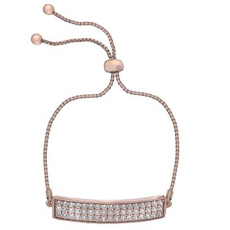 Hot Diamonds Rose Gold-Plated Adjustable Bracelet - Product number 4459806