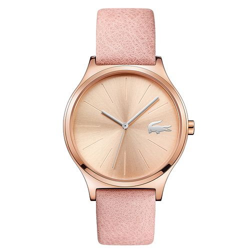 Lacoste Nikita Ladies' Pink Leather Strap Watch - Product number 4459911