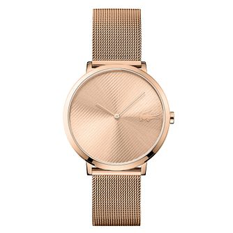 Lacoste Moon Ladies' Rose Gold Plated Bracelet Watch - Product number 4459962