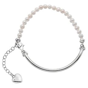 Hot Diamonds Sterling Silver Heart Charm Ball Bracelet - Product number 4459970