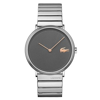 Lacoste Moon Men's Stainless Steel Bracelet Watch - Product number 4460081