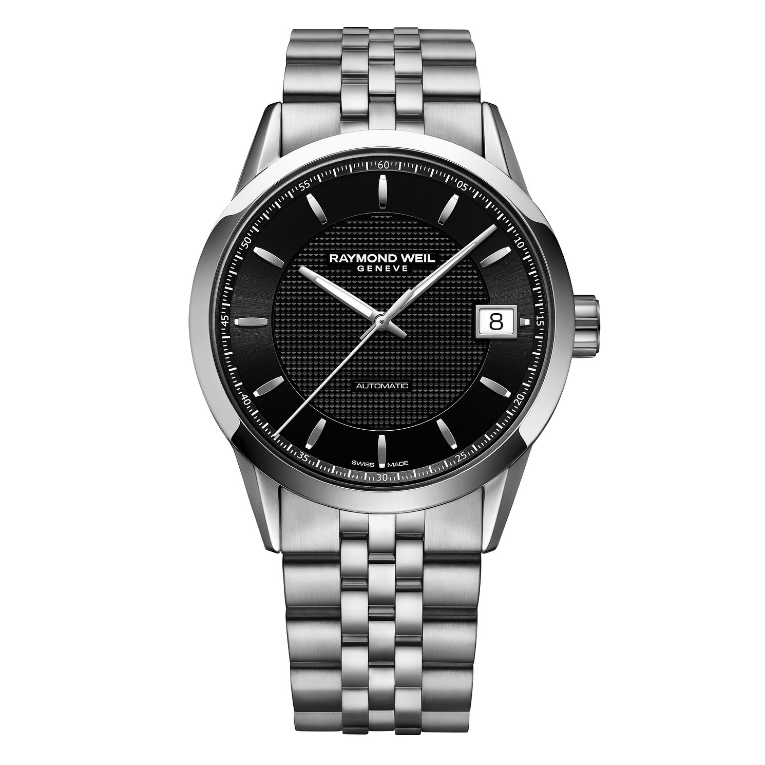 Raymond Weil Freelancer Men's Stainless Steel Bracelet Watch - Product number 4463919