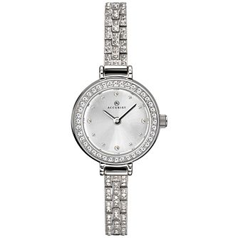 Accurist Ladies' Stone-Set Bracelet Watch - Product number 4464028