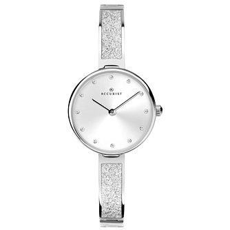 Accurist Ladies' Stainless Steel Semi-Bangle Bracelet Watch - Product number 4464044