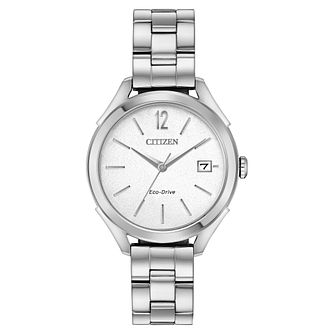 Citizen Eco-Drive Ladies' Stainless Steel Bracelet Watch - Product number 4466926
