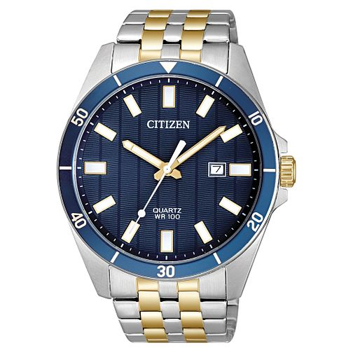 Citizen Men's Quartz Two-Tone Stainless Steel Bracelet Watch - Product number 4466969