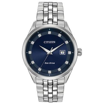 Citizen Eco-Drive Men's Corso Diamond Dial Watch - Product number 4467019